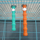 Colorful Pet Bird Chew Toys Paw Grinding Stand Perches Cage Parrot Budgie Random