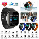 Universal A6 bluetooth Smart Watch Blood Pressure Heart Rate Monitor Fitness USA