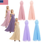 US Womens Wedding Bridesmaid Formal Dress Evening Party Ball Prom Gown Cocktail $26.93 USD on eBay