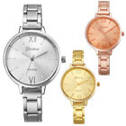 Geneva Fashion Women Watch Small Steel Band Alloy Analog Quartz Wrist Watches CA image