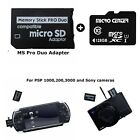 MS Pro Duo 64GB 128GB MEMORY STICK CARDS PRO DUO SANDISK WITH ADAPTER PSP CAMERA