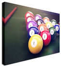 Picture Billiards Pool Snooker Canvas Wall Art Picture Print £48.99 GBP on eBay