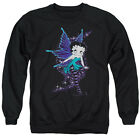 BETTY BOOP SPARKLE FAIRY Adult Licensed Pullover Crewneck Sweatshirt SM-3XL $33.96 USD on eBay