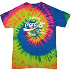 Coca Cola Original And Best White Text Men's Tie Dye T-Shirt $24.9  on eBay
