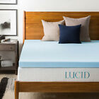 3-Inch-Matress-Topper-Cooling-GelInfused-Ventilated-Mattress-Memory-Foam-Relief