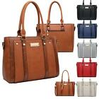 Patent Colour Block Top Handle Faux Snake Top Handle Structured Tote Hand Bag