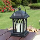 Solar Power Flameless LED Candle Lantern Lights | Outdoor Garden Hanging Lamp JC