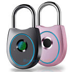 Fingerprint Padlock Waterproof Smart Keyless Biometric Lock for Bag Door Locker