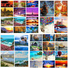 40 50CM Scenery DIY Paint By Number Kit Digital Oil Painting Art Home Wall Decor