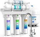 5 Stage Reverse Osmosis System - Home Drinking Water Filtration System -75GPD