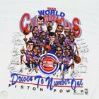 DETROIT PISTONS WORLD CHAMPIONS VINTAGE 1988 CARICATURE T-SHIRT REP on eBay