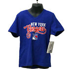Girls New York Rangers NHL Youth Sparkle T-Shirt Youth Sizes $10.89 USD on eBay