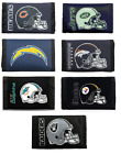 NFL Printed Tri-Fold Nylon Wallet RICO -Select- Team Below $8.99 USD on eBay