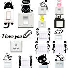 Home Wall Stickers Light Switch Decor Decals Art Mural Living Room Home Decor