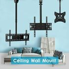 Ceiling Tv Wall Mount Bracket Adjustable Height Tilt 32 42 47 55 65 75 Flat Lcd