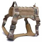 New Military Tactical Pet Dog Harness K9 Working Vest Leash Lead Training Dogs for sale  Shipping to Canada