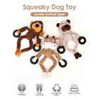 Squeaky Dog Toys Dog Chew Toy Tooth Cleaning Bite Resistant Training Toys R4B8