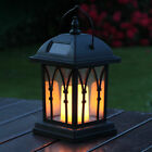 Solar Power Outdoor Garden Flickering LED Candle Lantern Light | 2C