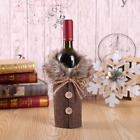 Red Wine Bottle Cover Bags Snowman Santa Claus Christmas Tree Decoration Xmas