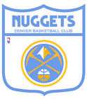 Denver Nuggets Shield  Logo Vinyl Decal / Sticker 2 Inches to 48 Inches!! on eBay
