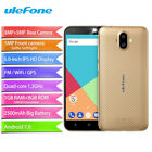 "Ulefone S7 5.0"" Android7.0 Smartphone 8mp Dual Camera Quad Core Mobile Phone"