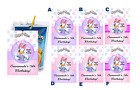 DAISY DUCK PERSONALIZED CAPRI SUN suns LABELS BIRTHDAY PARTY FAVORS SUPPLIES