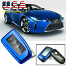 Blue Full Seale Soft TPU Key Shell Case Cover Protector For Lexus RX ES IS GS F