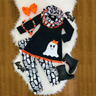 Halloween Boutique Toddler Kids Baby Girl Tops Dress Pants Legging Clothes USA