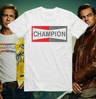 Champion T Shirt Once Upon A Time In Hollywood Brad Pitt Cool Gift Tee 146  image
