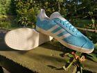 Adidas Originals Gazelle Fashion Trainers Unisex Blue White  Sizes UK 7 -13