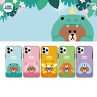 LINE FRIENDS Dual Guard Jungle Brown Case for iPhone 11/Pro/Max/XR/XS/X/8plus