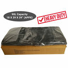 HEAVY DUTY Black Bin Bags Dustbin Rubbish Liners 90 Liter Refuse Sacks
