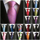 Men's Polka Dot Classic Silk Tie Jacquard Woven Wedding Party Work New Neckties $4.84 CAD on eBay
