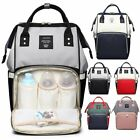 Waterproof Diaper Mummy Bag Multi-Function Travel Backpack Nappy Bags Baby Care