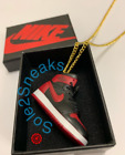 New Jordan 3D Sneaker Pendant with Gold Plated Chain Necklace supreme nike asics