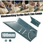 Woodworking Angle Rulers Measuring Square Size Scribe Mark Gauge Measure Tool