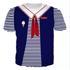 Stranger Things 3 Halloween Costume Scoops Ahoy Fancy Dress Robin Steve Cosplay