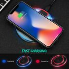 Qi Fast Wireless Charger Charging Pad for iPhone 11/Pro/Max/X/Galaxy Note 10/10+