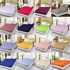 Awesome Egyptian Cotton 1000tc 1 PC Fitted Sheet King Size Solid Colors image