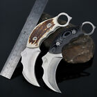 Outdoor Camping Survival Hunting Fishing Stainless Steel Pocket claw Knife
