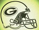 GREEN BAY PACKERS HELMET STENCIL MYLAR SPORT FOOTBALL MANCAVE STENCILS $28.76 USD on eBay