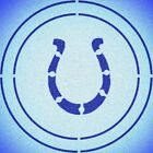 DOUBLE CIRLCE INDIANAPOLIS COLTS STENCIL SPORT FOOTBALL STENCILS $6.63 USD on eBay