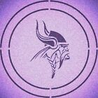DOUBLE CIRLCE MINNESOTA VIKINGS STENCIL SPORT FOOTBALL STENCILS $9.18 USD on eBay