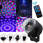 RGB LED Laser Light Projector Party Club DJ Disco Auto Stage Crystal Ball+Remote cheap