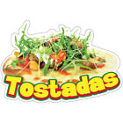 Tostadas Decal Concession Stand Food Truck Sticker