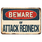 Beware Of Attack Redneck Rustic Sign SignMission Classic Plaque Decoration