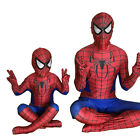 Spiderman Body Suit Superhero Cosplay Costume Kids/Adults Party Halloween Outfit