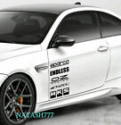 Racing Sponsors Decal Sticker Performance Sport Motorsport Car Truck Emblem 2pcs $34.46 USD on eBay