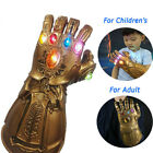 Kyпить Avengers Infinity War Infinity Gauntlet LED Light Thanos Gloves Cosplay Props US на еВаy.соm