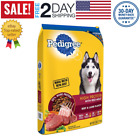 Pedigree High Protein Adult Dry Dog Food Beef & Lamp 17-20.4-46.8-50Lb NEW